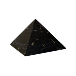 Schungit Pyramide unpoliert 10cm
