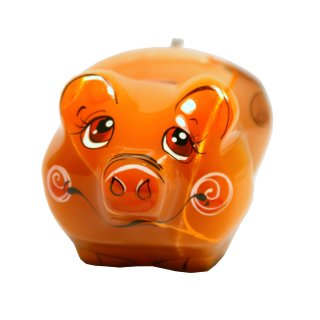 Schweinchen Figur als Glücksbringer und Symbol Kollektionsfigur