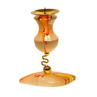 Selenit Kerzenständer 8,5cm hoch Marienglas
