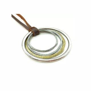 Vintage 5 Ringe Anhängerkette
