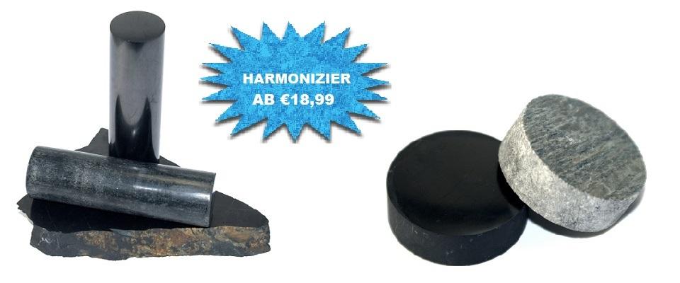 Schungit / Steatit Harmonizer Sets